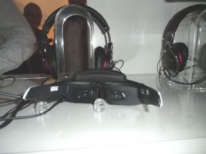 Die Videobrillen HMZ-T2 von Sony waren eine Attraktion auf der IFA 2012 in Berlin!